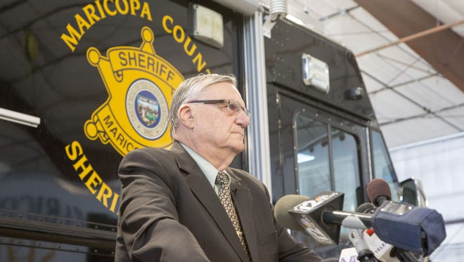 Sheriff Joe Arpaio will have six deputies on standby on Election Day to respond to problems at polling places.