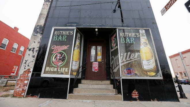 Ruthie's Bar at Commercial Street and Jefferson Avenue.