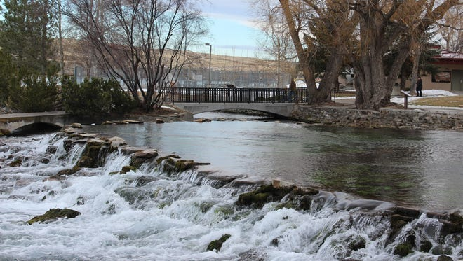 Visits to Giant Springs were up 2 percent in 2016.