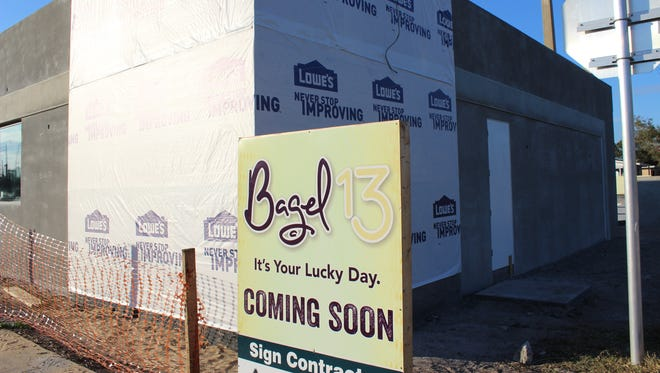 Bagel 13 will open a new location at the corner of State Road 50 and Apollo Road.