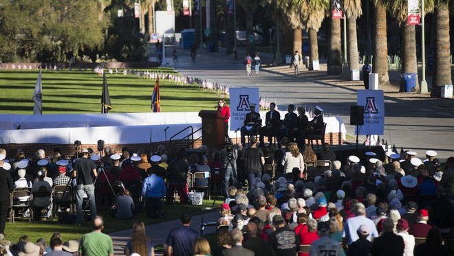 More than 40 people have expressed strong interest in taking the reins of the University of Arizona in Tucson, the Arizona regents say.