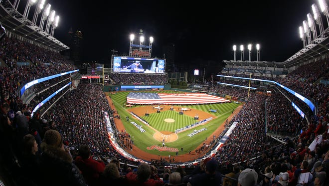 Cleveland's ballpark – then known as Jacobs Field – also hosted the All-Star Game in 1997.