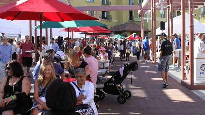 During the Italian Festival of Arizona, visitors can enjoy outdoor dining, authentic Italian food and live entertainment.
