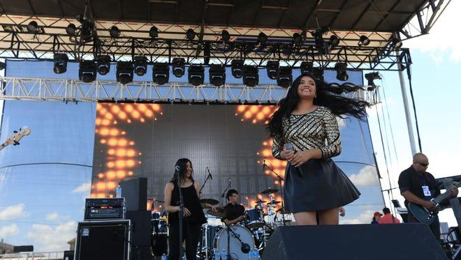 Isabel Marie Sanchez will return to Fiesta de la Flor to be part of the 2017 lineup.
