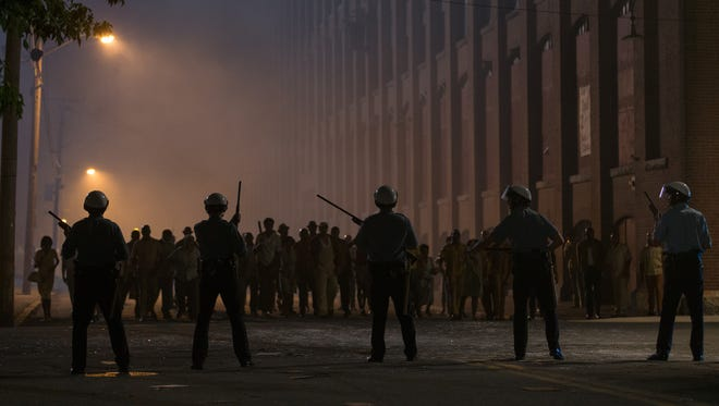 "An image from ""Detroit,"" a film about the 1967 Detroit riots directed by Kathryn Bigelow, which hits theaters Aug. 4."
