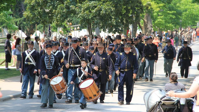 Greenfield Village's Civil War remembrance is a living-history event that allows visitors to immerse themselves in the 1860s with the help of actors, re-enactors, history buffs and musicians.