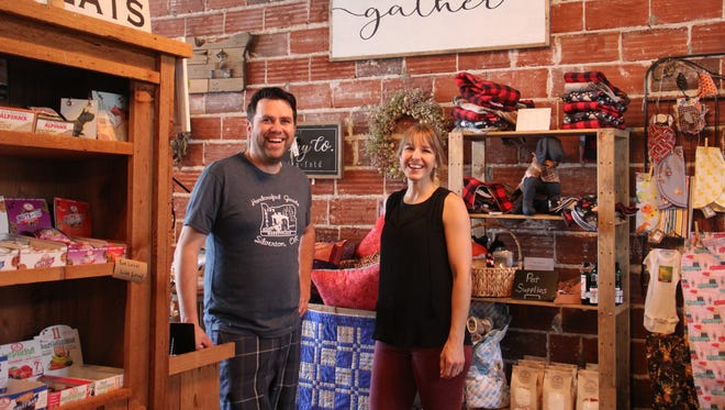 Joshua and Elisha Nightingale own Live Local Marketplace, a Silverton boutique with hyper-local gifts, pop-up events, food co-op groceries and a coffee shop.