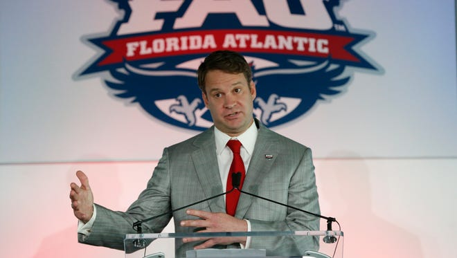 One of the top story lines all season in Conference USA will be new Florida Atlantic coach Lane Kiffin.