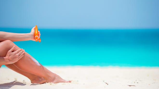 Most think skin cancer only occurs on sun exposed areas but it can occur in non-sun exposed areas too.