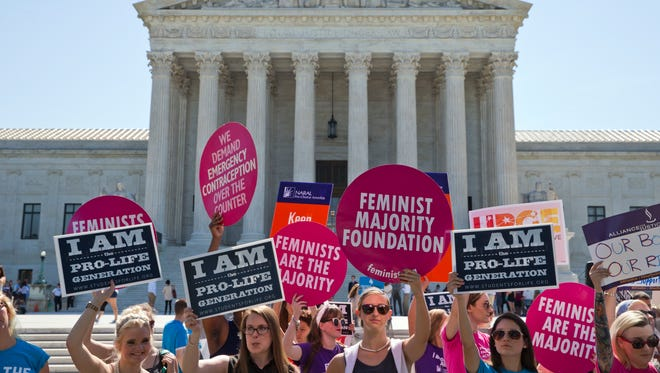 The abortion issue could return to the Supreme Court this term in a California free-speech case.