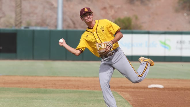 Arizona State freshman Alika Williams, a 32nd-round draft pick out of high school, is contending to start at shortstop in 2018.