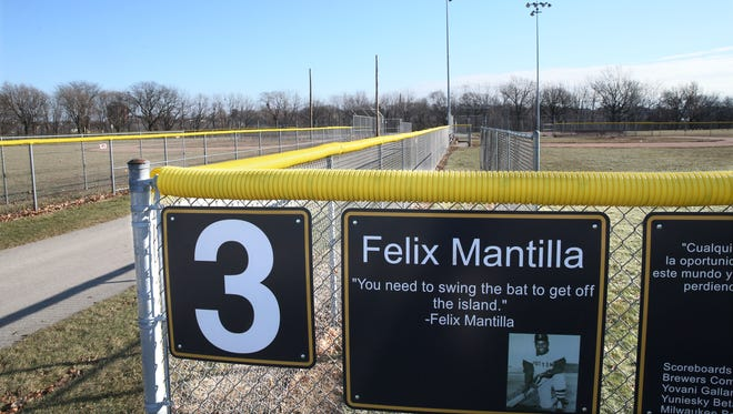 The Little League field at Milwaukee County's Baran Park, 2600 S. Chase Ave, is shown in this photo. Journey House offered to invest $2.8 million for new baseball fields and a concession pavilion with a kitchen. The Felix Mantilla Little League, managed by Journey House, would be the primary user of the fields.