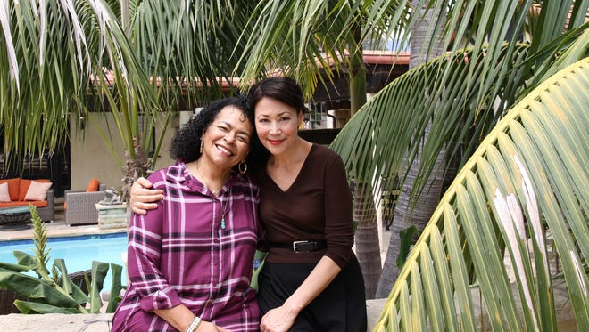 Fatima Cortez-Todd with Ann Curry on 'We'll Meet Again'