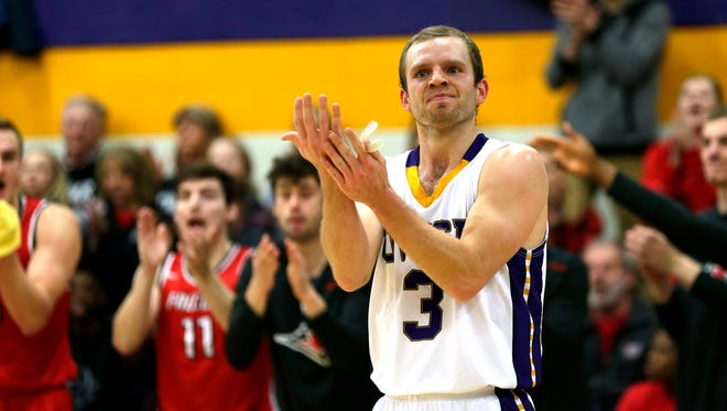 UW-Stevens Point senior guard MJ Delmore will get to close out his college basketball career in the NCAA Division III tournament. The Pointers will face North Central (Ill.) College in a regional opener Friday night.