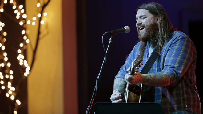 Christopher Gold will be among the local artists performing Monday in downtown Appleton.