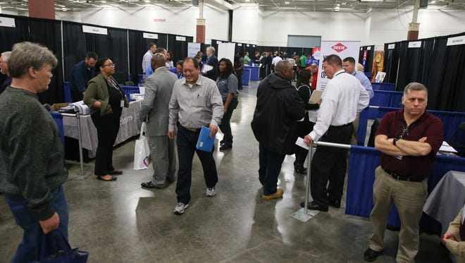 The Wisconsin Department of Workforce Development held a job fair at the State Fair Expo Center called the Milwaukee Career Expo.