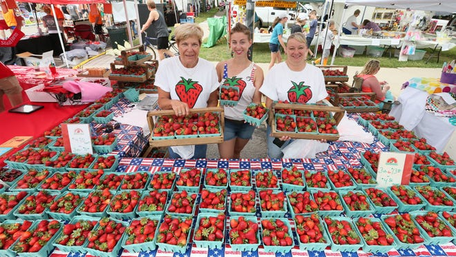 Cedarburg's annual Strawberry Festival may be canceled, but event organizers are planninga virtual event on June 27 for those who want to support the festival's vendorsfrom home.