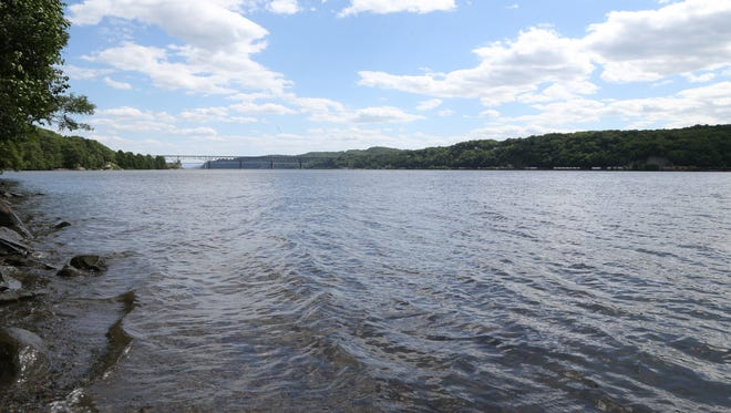 The Hudson River from Quiet Cove Park in the Town of Poughkeepsie on June 14, 2018.
