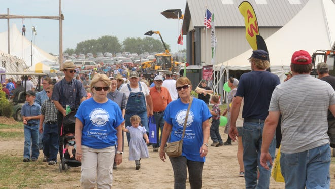 Sunny skies and warm temperatures greeted showgoers attending this year's Farm Technology Days in Wood County.