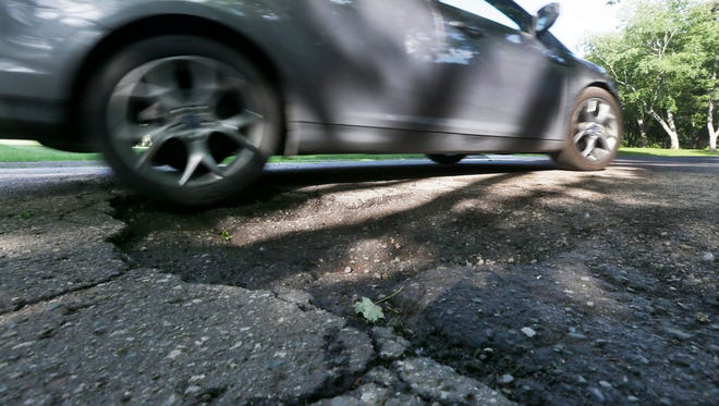 Wisconsin's roads are ranked among the worst in the nation, according to an industry group.