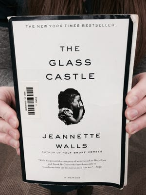 "The cover of the book ""The Glass Castle: A Memoir"" by Jeannette Walls."