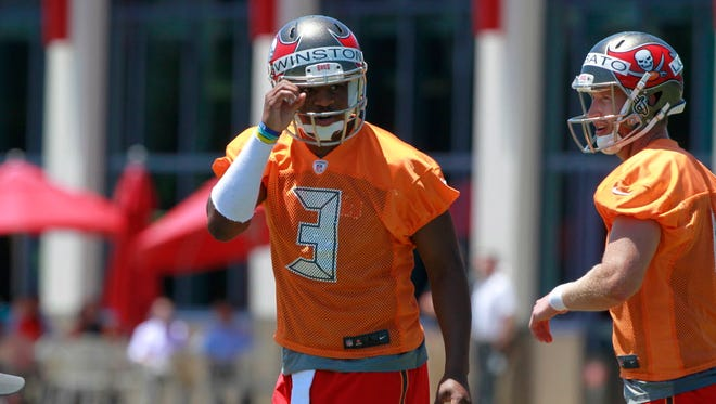 Former Florida State QB and Buccaneers No. 1 pick Jameis Winston.