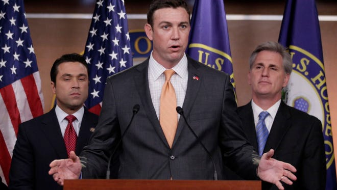 Rep. Duncan Hunter, R-Calif., is a member of the House Armed Services Committee.