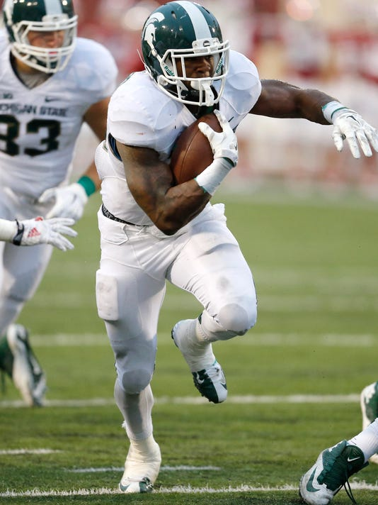 Michigan St Indiana football