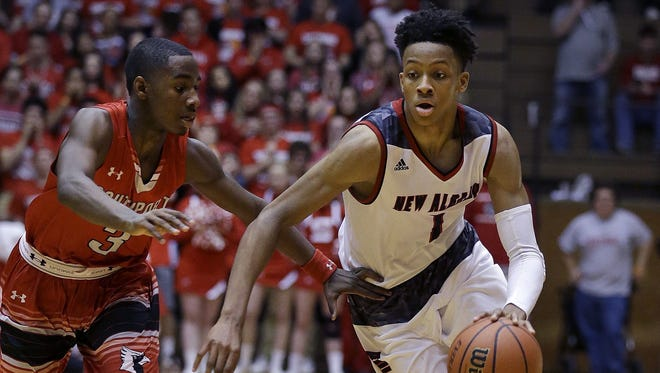 Romeo Langford has a chance to break Damon Bailey's career scoring record next season.