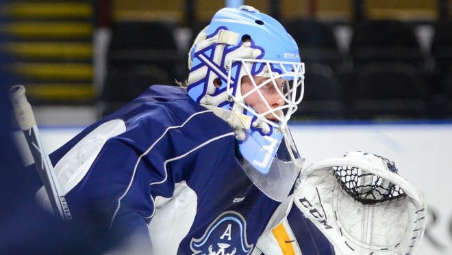 Anders Lindback has been in net for all of the Milwaukee Admirals' 11 victories this season.