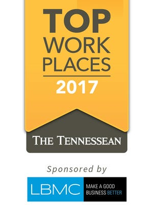 Nominations are open for the 2017 Top Workplaces of Middle Tennessee
