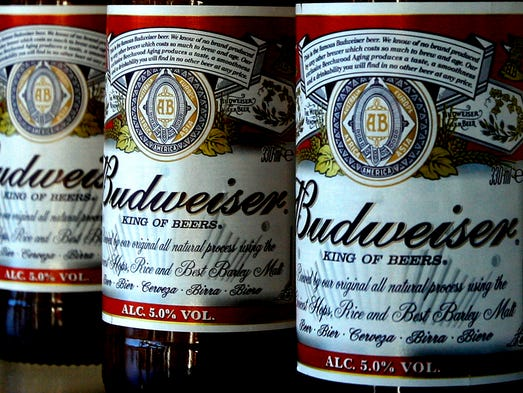 """The self-proclaimed """"king of beers,"""" Budweiser's lager was originally sold in 1876 as the first brand available all across the country. For years, Budweiser was the most popular beer in the country, until Bud Light took its place in the early 2000s. Bud is now third-most popular behind Coors Light as well. Part of the reason for the beer's decline was the increasing popularity of light beer. """"The trend toward light beers really hurt Budweiser in the beginning of its decline,"""" Shepard said. Although the trend may be reversing. """"There seems to be a shift away from light beer now as well,"""" Shepard added."""