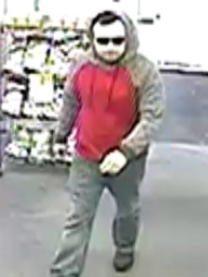 A suspect who attempted to use a stolen credit card at CVS was caught on surveillance video.