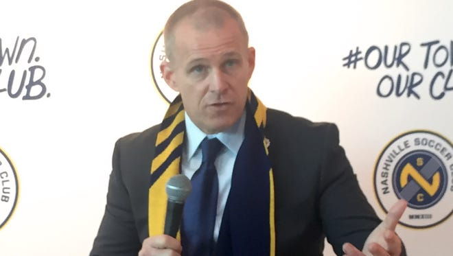 Gary Smith was named coach of Nashville SC on Wednesday.