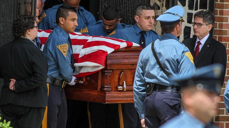 Final salute to fallen State Trooper