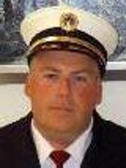 Delaware City Fire Company Fire Chief James D. Rosseel