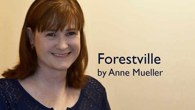 Ann Mueller, columnist for Forestville.