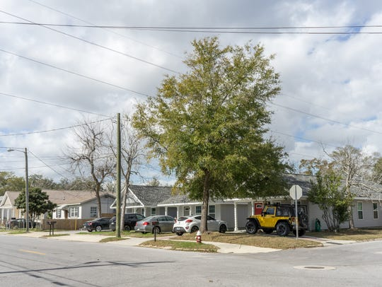 Homes like the ones located at the intersection of