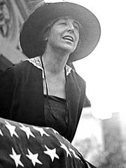 "Jeanette Rankin was the first woman elected to the U.S. Congress in 1916 and was a women's rights activist. USA TODAY is seeking nominations for its upcoming ""Women of the Century"" project."
