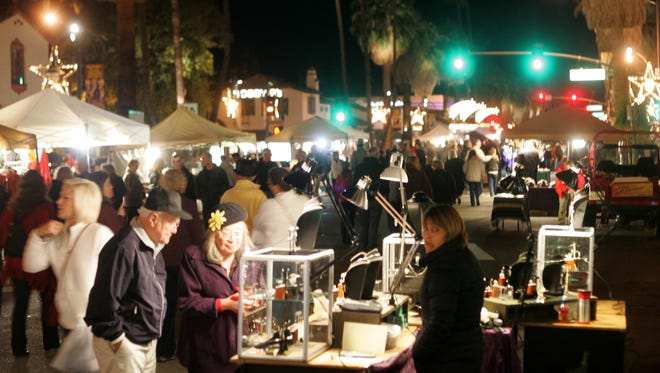 Palm Canyon Drive brims with activity during VillageFest. The Desert Sun Editorial Board recommends that voters approve Measures D and E on the Palm Springs Nov. 7 ballot to preserve vital funding for city programs.