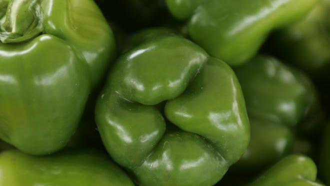 Green pepper (aka mango in Indiana)