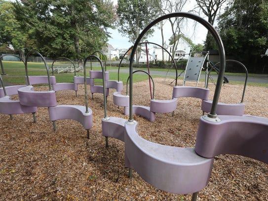 The playground at Gagliardo Park on Nursery Lane in