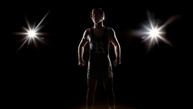 Richmond High School senior Aaron Kilburn is the Times Herald Wrestler of the Year.