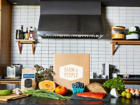 Farm To People 'Fresh' boxes are a new meal-kit delivery service focused on small-scale farmers and unique ingredients.
