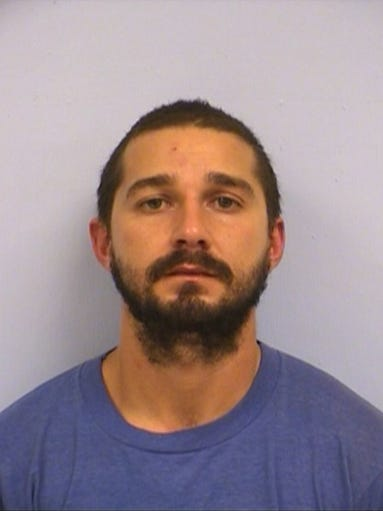 Actor Shia LaBeouf landed back in trouble with the