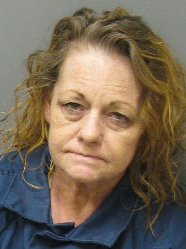Cynthia Hover is charged with property theft.