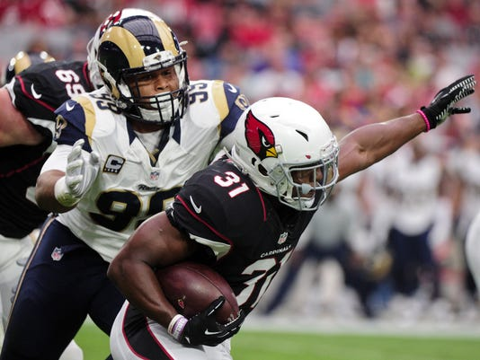 NFL: St. Louis Rams at Arizona Cardinals
