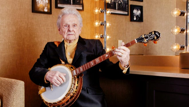 Ralph Stanley is relaxing backstage at the Grand Ole Opry House in Nashville March 11, 2011. At 84 and approaching his 65th year on the road, few things have slowed down for Ralph Stanley, especially his recording style.