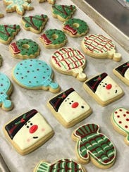 An assortment of cookies from Sweet to Eat Bakery and Cake Shop.