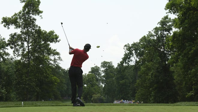 Five-time champion Tiger Woods is among the field in next week's Memorial Tournament at Muirfield Village Golf Club. It will be his first PGA Tour event since February.